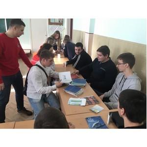 Участники волгоградской команды «Молодежки ОНФ» провели акцию «Татьянка»