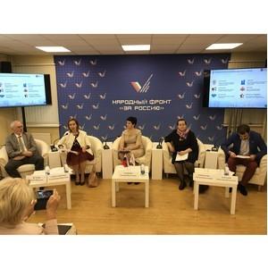 В Москве выполнена часть общественных предложений ОНФ о поддержке социально ориентированных НКО