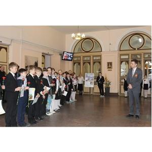 Активисты ОНФ в Санкт-Петербурге дали старт акции «Рисунки Победы» и поздравили врачей-ветеранов