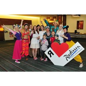 Третий благотворительный детский праздник прошел в отеле Radisson Kaliningrad