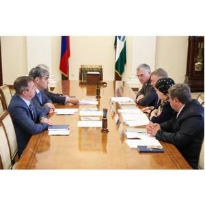 Активисты ОНФ в Кабардино-Балкарии передали врио главы республики общественные предложения