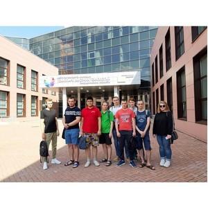 Студенты НТИ НИЯУ МИФИ на практике в технопарке «Университетский»
