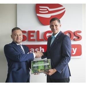 Selgros Cash&Carry в России получила свой первый экологический сертификат Chep