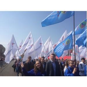 Самарские активисты ОНФ приняли участие в праздничном первомайском шествии