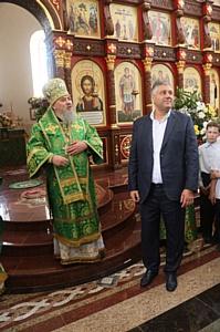 Евгений Суворов награжден за вклад в строительство Георгиевского Собора