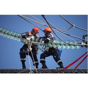 ФСК ЕЭС заменила более 4 тыс. изоляторов на линиях электропередачи Курской области