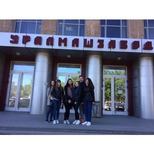Уралмашзавод привлекает студентов