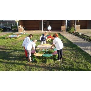 Активисты ОНФ привели в порядок детскую площадку в Уфе