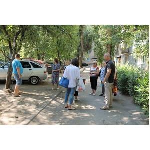 Активисты ОНФ провели совещание по жалобам жителей одного из домов Советского района Воронежа