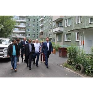 Активисты ОНФ контролируют благоустройство дворов в Алтайском крае