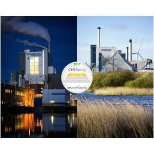 Фабрики Iggesund получили наивысшую оценку экобезопасности от EcoVadis