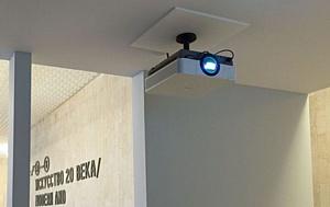 Выставка Айвазовского в Третьяковской галерее проходит при технической поддержке Auvix и Sony