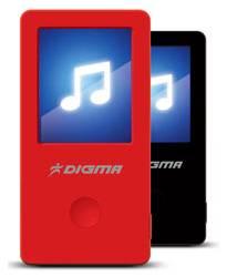 T2 – новый MP3-плеер Digma