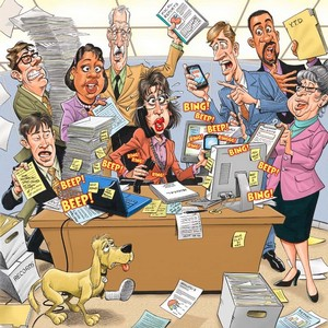 Лин против офисного застоя