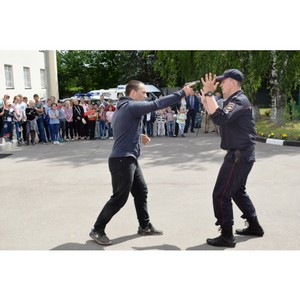 В отделе полиции Зеленограда прошла экскурсия для детей