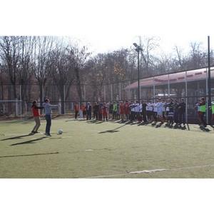 Активисты ОНФ в КБР организовали для участников футбольного турнира «Зарядку с чемпионом»