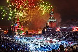 День города Москвы 2013 при участии Install Profi