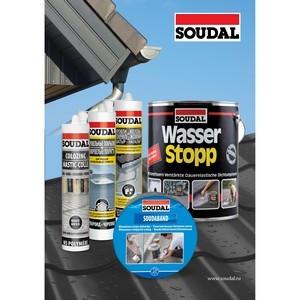 Средства Soudal для ремонта крыши