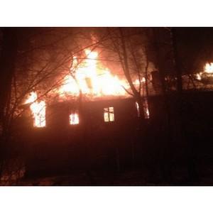 В Калуге сожгли микрорайон