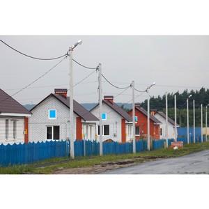 Белгородэнерго подключает к сетям дома для переселенцев