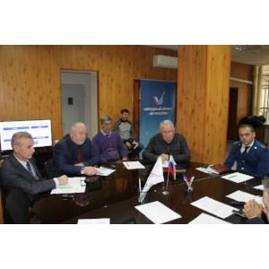 Активисты ОНФ в Чечне наметили планы реализации дорожного проекта Народного фронта в 2018 году