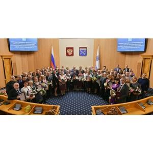 Сотрудники Смерфит Каппа СПб удостоились наград за вклад в развитие лесного комплекса Ленобласти
