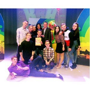 Команда КВН Рубцовского Института «Разные люди» - победитель в номинации «Команда - открытие»