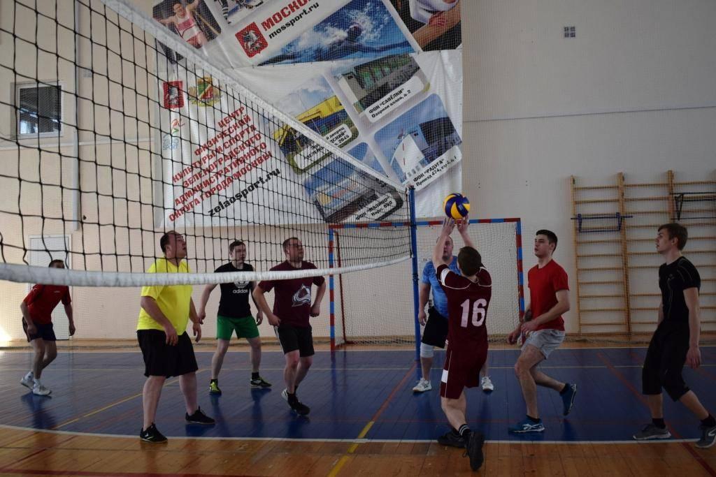 Полиция Зеленограда выявила сильнейших в волейболе