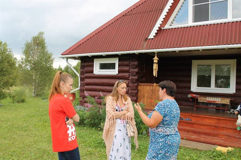Активисты Народного фронта посетили одно из родовых поместий в Челябинской области
