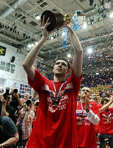ЦСКА  вновь стал чемпион России БЕКО Профессиональной Баскетбольной Лиги!