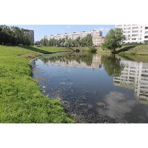 јктивисты ќЌ' вз¤ли под контроль экологическую ситуацию в реке Ќовой в —анкт-ѕетербурге