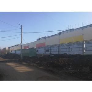 ОНФ обеспокоен возобновлением строительства магазинов на участках для спортплощадок