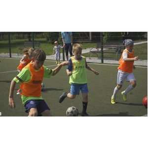 Мастер-класс по мини-футболу в посёлке «Сосновый Бор».