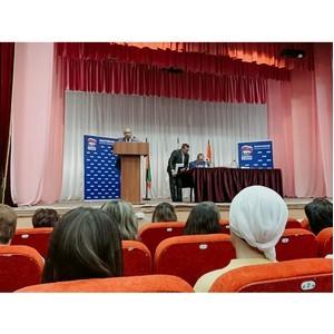 Ильшат Рафкатович Гафуров провел рабочую встречу в Апастовском муниципальном районе
