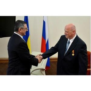 Сотрудник ЮРИУ РАНХиГС награжден медалью Министерства обороны России