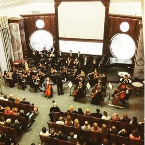 Международный музыкальный фестиваль Arabesques en Russie в Русском Географическом обществе.