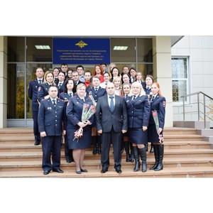 В Зеленограде поздравили дознавателей с 25-летием службы