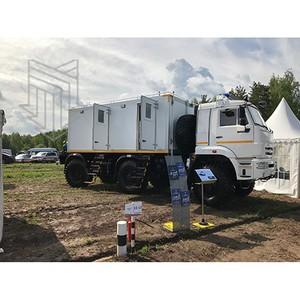 День передовых технологий правоохранительных органов России: Колесный вездеход и другая техника МПЗ
