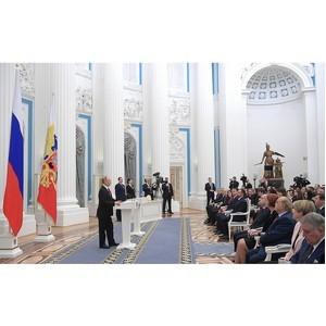 """Национальное деловое партнерство """"Альянс Медиа"""". В Кремле вручили премии молодым ученым"""