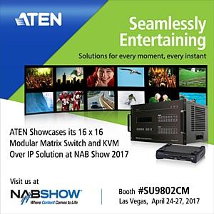 Atenpro: На 2017 NAB Show Aten продемонстрирует передовые креативные  pro A/V решения