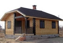 Срубы домов