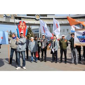 Активисты ОНФ приняли участие в праздничных мероприятиях, приуроченных ко Дню весны и труда