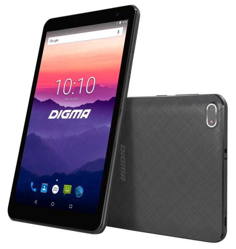 Планшет Digma Optima 7018N 4G: высокая производительность в компактном привлекательном корпусе