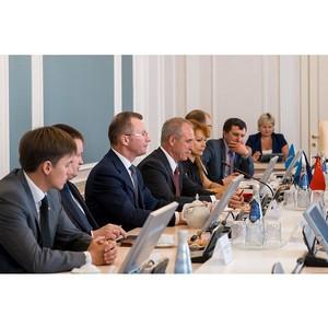 Губернатор Ульяновской области обсудил с Президентом Холдинга «Евроцемент груп» строительство завода