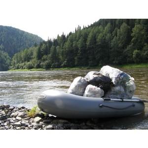 Активисты ОНФ в Кузбассе обнаружили несанкционированные свалки в ходе экологического сплава