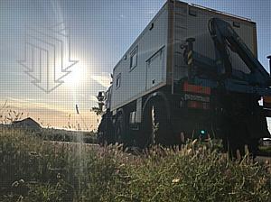 Новый вездеход МПЗ колесит по Голландии
