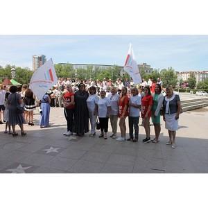 В День семьи, любви и верности активисты ОНФ в Амурской области провели праздничные мероприятия