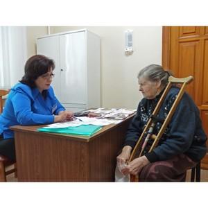 Специалисты ПФР провели прием в Тамбовском доме ветеранов