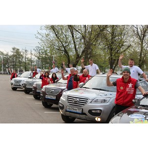 Международный автопробег на автомобилях Lifan прошел половину пути