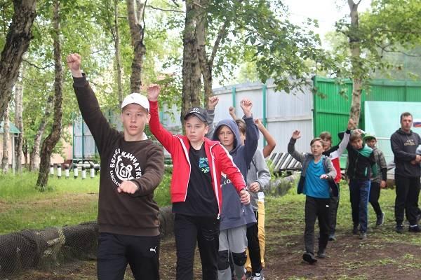 Активисты Народного фронта на Камчатке провели акцию «ГТО со звездой»